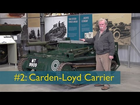 David Fletcher's Tank Chats #2: The Carden Loyd Carrier | The Tank Museum