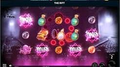 The Rift Slot £2K Win - Mega Slot Win Bonus Game