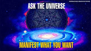 Ask The Universe 🙏 Miracle Tone 528Hz Music 🙏 Manifest What You Want l Calm Sleep Meditation Music