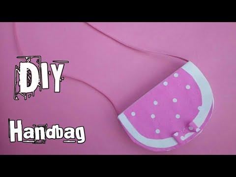 DIY Newspaper Handbag||Handbag for kids|Super easy handbag|Prachi Art & crafts