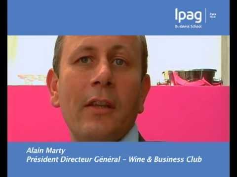 Alain Marty, PDG Wine & Business Club - Diplômés Ipag