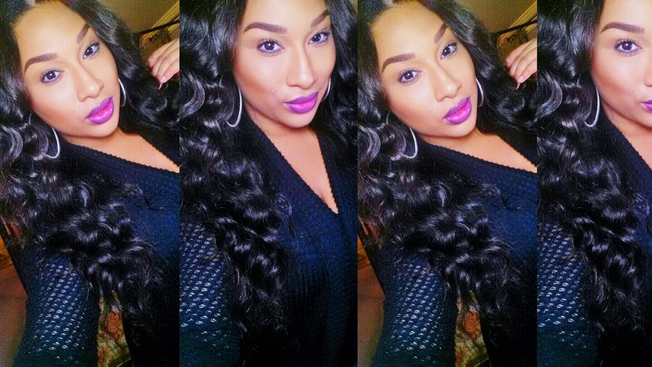 Review Luvin Hair Virgin Brazilian Loose Wave 6 Week