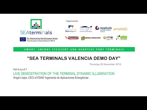 SEA TERMINALS Demo Day 6/7 (Valencia)
