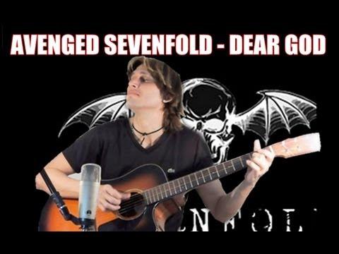 Avenged Sevenfold - Dear God [FINGERSTYLE GUITAR] Cover Acoustic Guitar solo