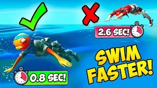 *NEW TRICK* SWIM 5X FASTER!! - Fortnite Funny Fails and WTF Moments! #751