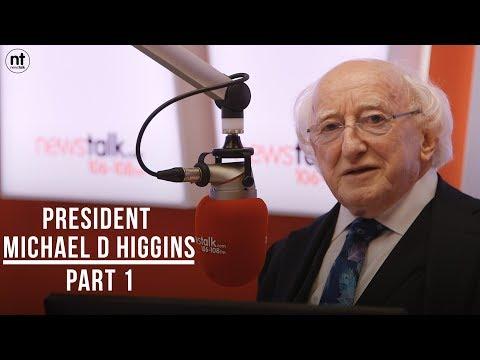 President Michael D Higgins Interview // Part1