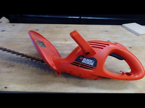 How to Troubleshoot a Black & Decker Electric Hedge ...