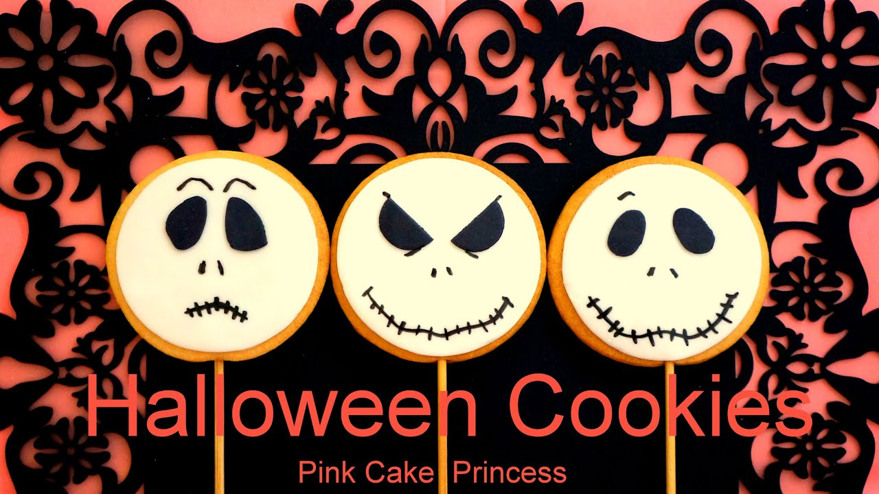 halloween cookies cupcakes treats how to decorate jack skellington treats by pink cake princess youtube