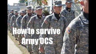 How to survive Army OCS
