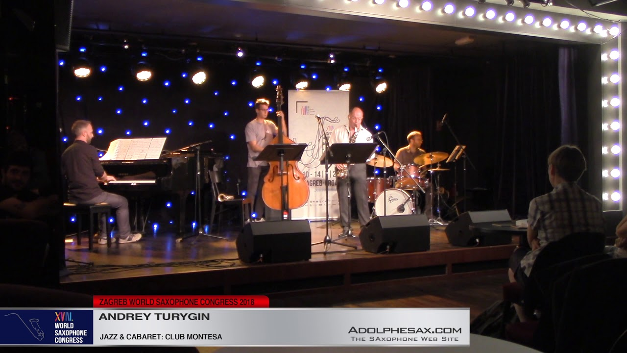 Jazz Performance: TALK IN A WHISPER   Andrey Turygin   XVIII World Sax Congress 2018 #adolphesax