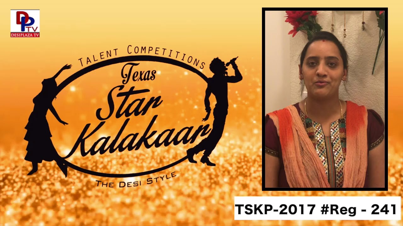 Reg# TSK2017P241- Texas Star Kalakaar 2017