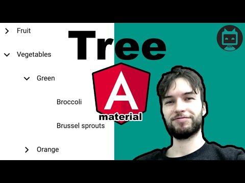 Angular Material Tree - YouTube