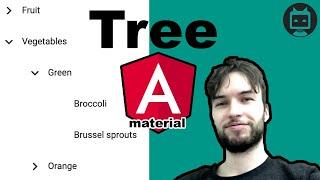 Angular Material Tree