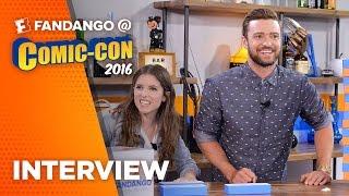 'Trolls' Justin Timberlake & Anna Kendrick Interview – COMIC CON 2016