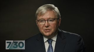 Kevin Rudd blames his demise on plotting, ambitious colleagues | 7.30