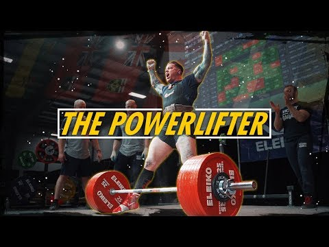 The Powerlifter - Bryce Krawczyk (Calgary Barbell) : weightroom