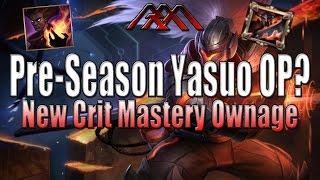 Pre-Season 6 Yasuo OP? - League of Crit - League of Legends
