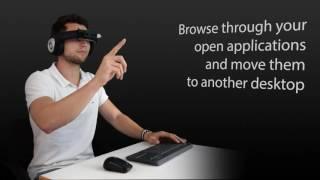 Virtual Desktop Management With Carnival on Avegant Glyph