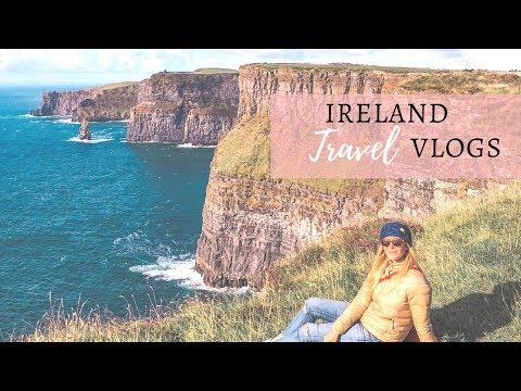 IRELAND TRAVEL VLOG | THINGS TO DO IN DUBLIN + CLIFFS OF MOHER TIPS | EXPLORING GALWAY