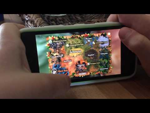 Playing two games on my phone dinos online and wolf online❤️😘