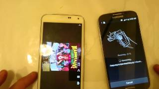 Galaxy S5 & S4: How to Beam / NFC Photos & Videos (File Transfer)