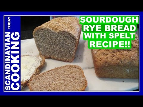 How To Make Delicious Homemade Sourdough Rye Bread With Spelt Recipe