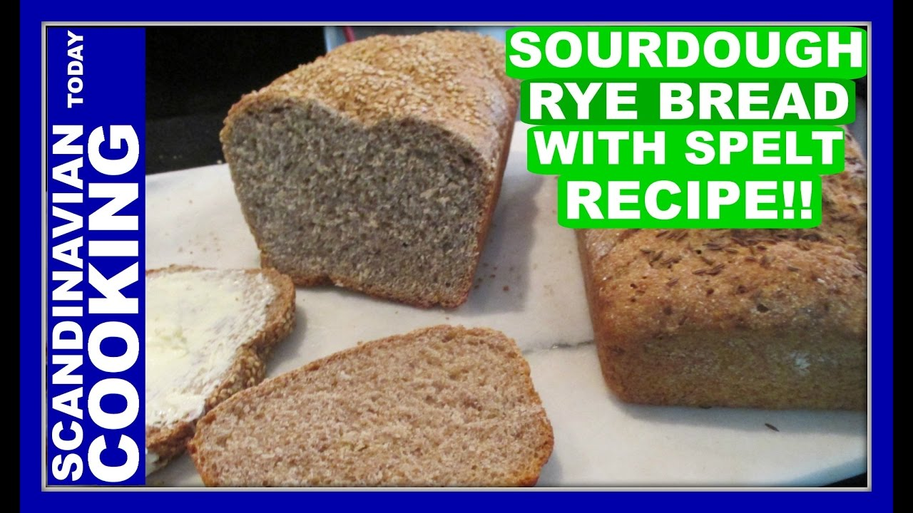 How To Make Delicious Homemade Sourdough Rye Bread with ...