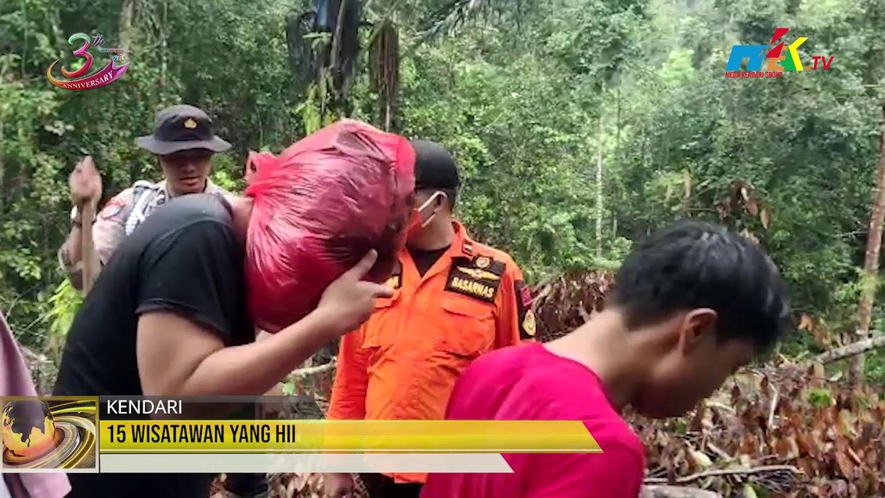 15 Wisatawan Yang Hilang, Ditemukan Selamat
