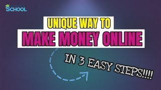 Unique Way To Make Money And Passive Income Online - How To Make Money Online