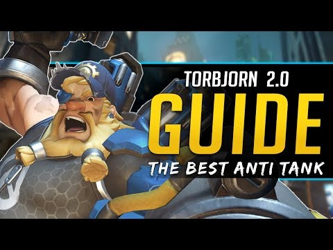 Overwatch Torbjorn 2.0 Guide - Play like a PRO - All Abiliti