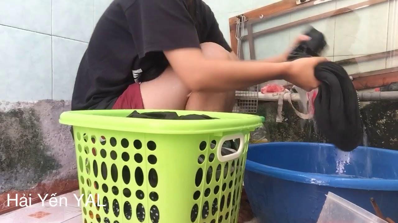 Bí Kíp giặt quần áo cực nhanh và sạch giành cho người lười Hải Yến Yal