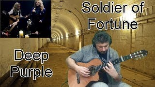 SOLDIER OF FORTUNE DEEP PURPLE FINGERSTYLE GUITAR COVER