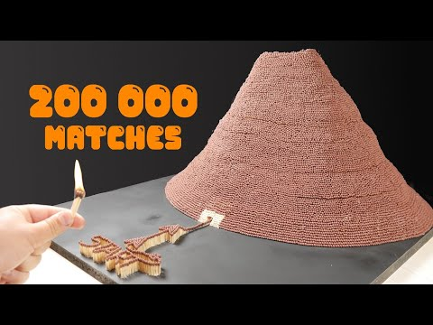 SUPERVOLCANO ERUPTION Match Chain Reaction Amazing Domino Effect
