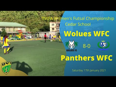 FA Women's Futsal League - Wolues FC 8 0 Panthers FC.