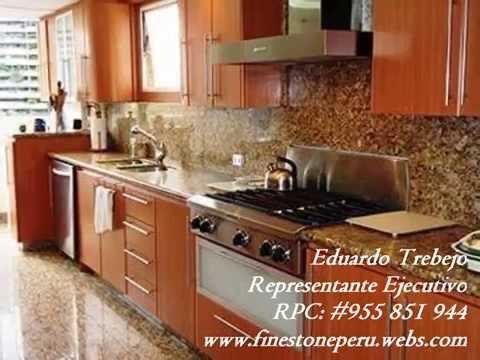 Fine stone comedores de granito cuarzo m rmol onix con - Forrar azulejos cocina ...
