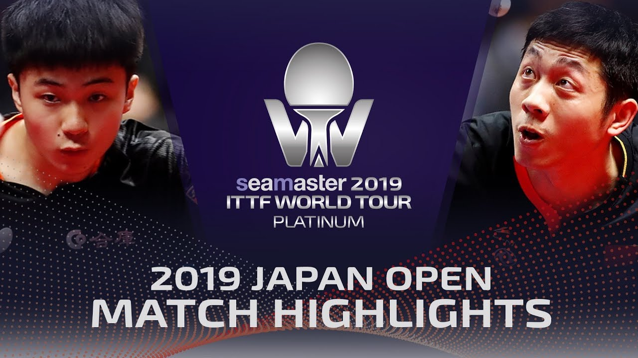 Download Xu Xin vs Lin Yun-Ju | 2019 ITTF Japan Open Highlights (Final)