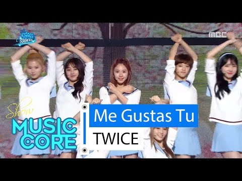 Thumbnail: [Special stage] TWICE - Me Gustas Tu, 트와이스 - 오늘부터 우리는 Show Music core 20160416