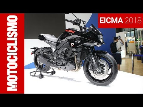 Suzuki Katana Black Edition - EICMA