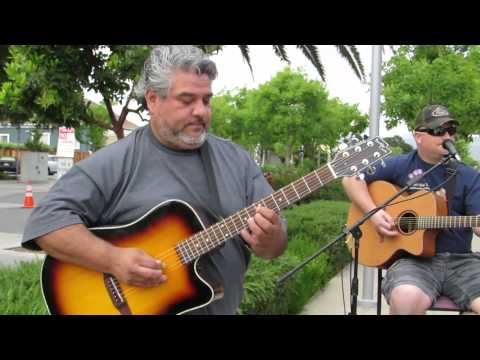 Downtown Morgan Hill Thursday Farmers' Market music performance