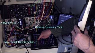 Getting started on my Eurorack journey with my EWI, Parat+, the Ins...