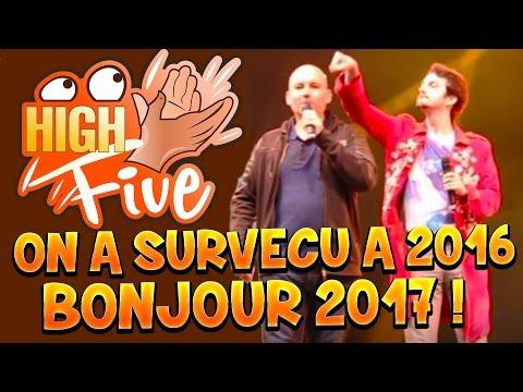 High Five ! ON A SURVECU A 2016, BONJOUR 2017 - Fanta et Bob Talk Show fr Podcast Vidéo
