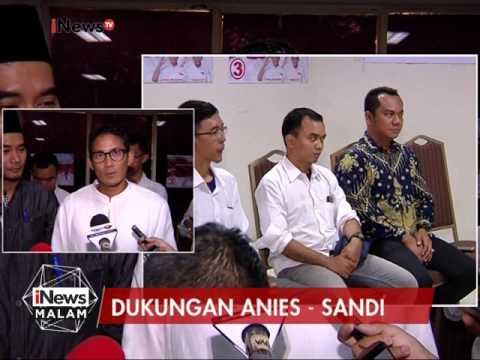 Paslon Pilkada DKI no urut 3 mendapat dukungan dari Forum Jakarta Sejahtera - iNews Malam 24/02