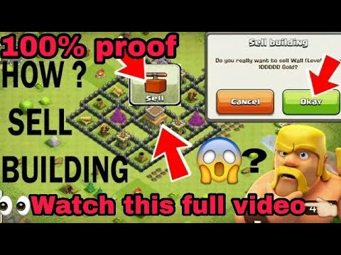 OMG!😱 Sell Your Buildings | How To Sell Buildings In Coc | By Coc Boss