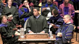 Pomona College 2013 Convocation: ASPC President Darrell Jones III
