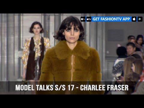 Model Talks Fall/Winter 2017-18 Charlee Fraser   FashionTV