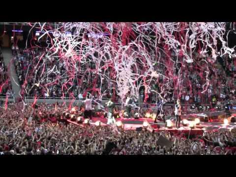 One direction! Friends Arena Stockholm fredag 13 juni 2014.