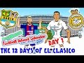 El Clasico - 12 Days of Xmas! BARCELONA vs REAL MADRID 1-1 2016 (Day 1 Football Advent Calendar)