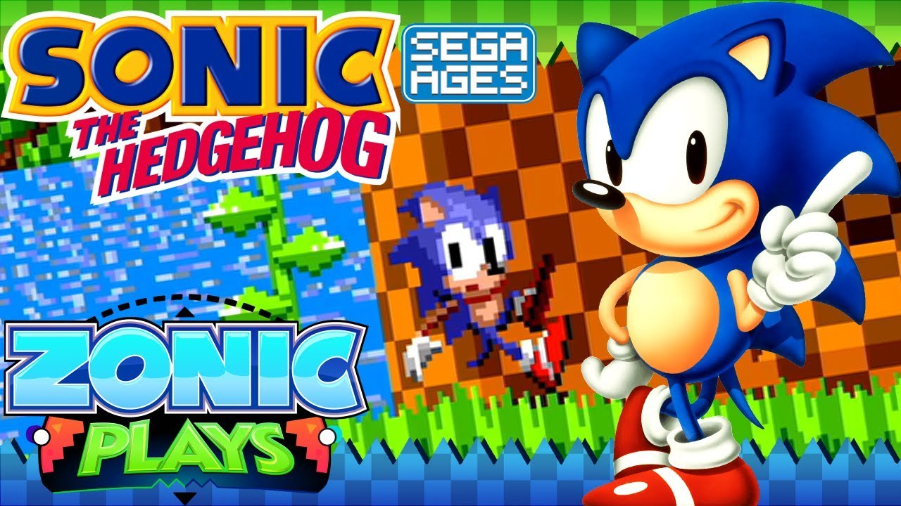 Sonic The Hedgehog Sega Ages Full Playthrough Modes Zonic Plays Youtube