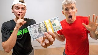 I SECRETLY CHALLENGED STEPHEN SHARER TO $10,000 (LEGO Ninjago Scavenger Hunt)