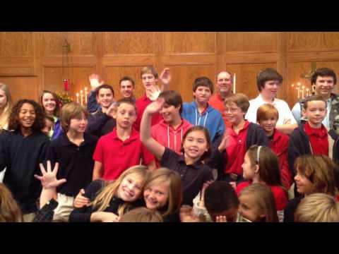 Risen Christ Lutheran School visit 11-14-12